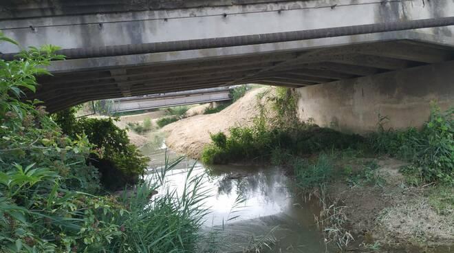 danni sotto ponte Chiecina Montopoli