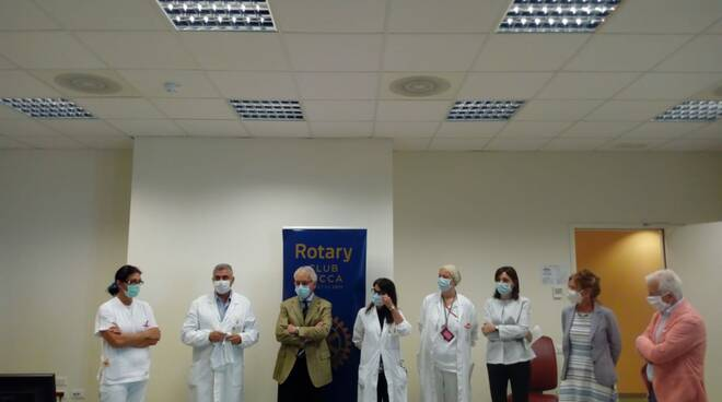 donazione body Asl Toscana Nord Ovest Rotary Sids