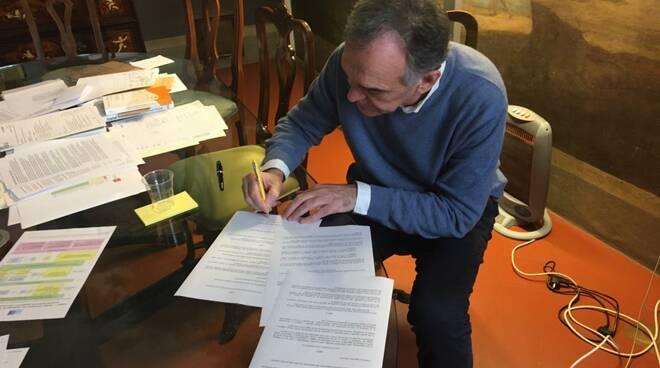 Enrico Rossi ordinanza