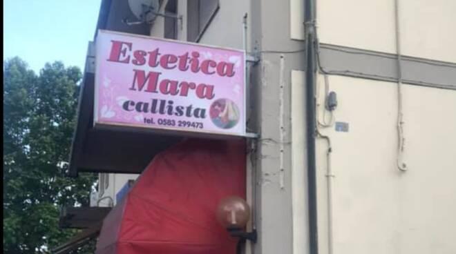 estetica Mara furto giorno Porcari