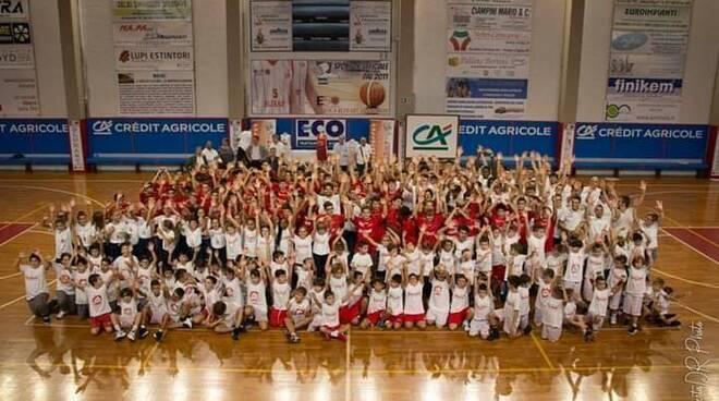 Etrusca Basket San Miniato settore giovanile minibasket
