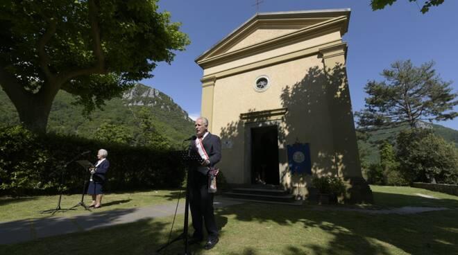 Eugenio Giani 2 giugno Sant'Anna di Stazzema