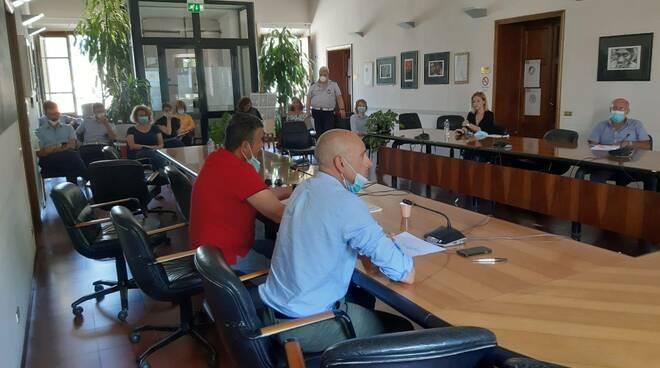 formazione protezione civile Comune di Porcari