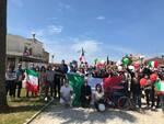 Fratelli d'Italia manifestazione centrodestra 2 giugno Viareggio