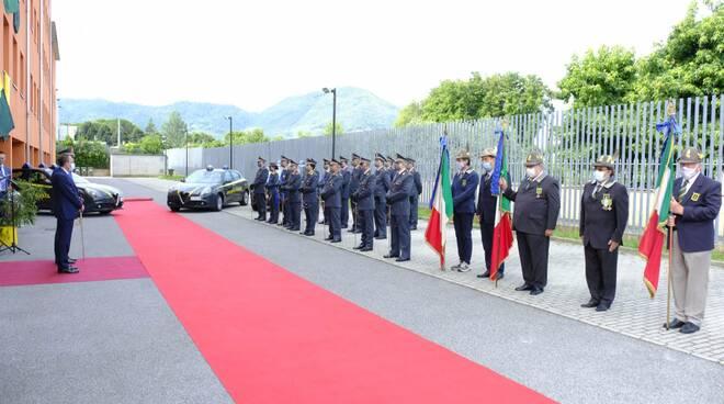 Guarda di Finanza bilancio 2019 attività prefetto caserma Puccini Lucca