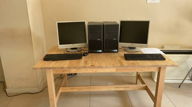 hacking labs computer comodato la mano amica