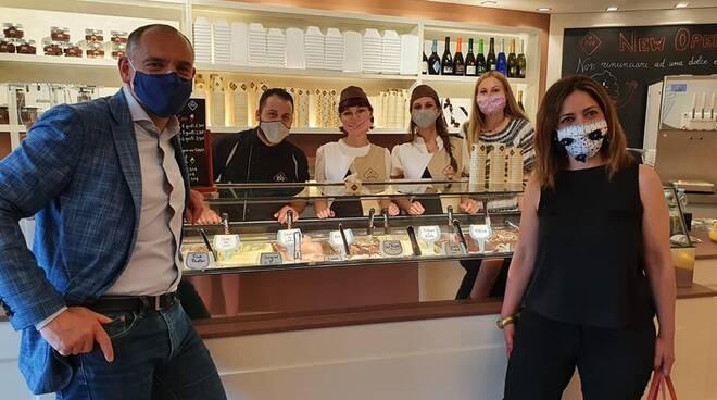 inaugurazione gelateria Eva San Concordio
