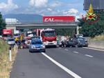 incidente A1 4 morti Monte San Savino