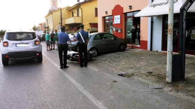 incidente mortale Turchetto Montecarlo 6 giugno 2020