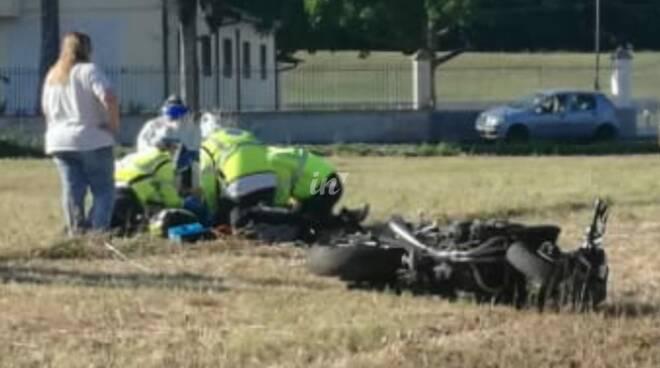 incidente moto via primo maggio ponte a egola 3 giugno 2020