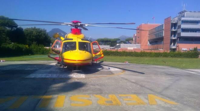 intervento soccorso morto elisoccorso monte Prana ciclista