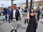 manifestazione centrodestra 2 giugno Viareggio Montemagni