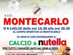 Montecarlo Nutella Party Open Day calcio giovanile Genoa