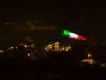 mura illuminate tricolore Pietrasanta Festa della Repubblica 2 giugno 2020