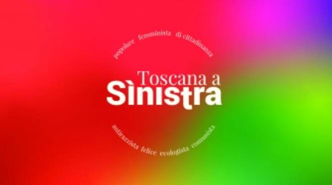 Nuovo logo Toscana a sinistra