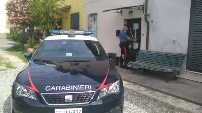 piantagione marijuana Fagnano arresti carabinieri