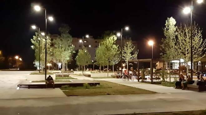 piazza Aldo Moro notte eventi estate