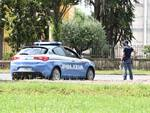 polizia controlli Lucca mascherina mattina