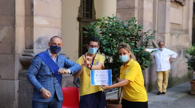 premiazione Allegra Brigata Provincia Cortile Carrara