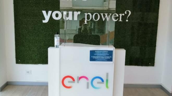 Punto Enel viale Castracani Lucca
