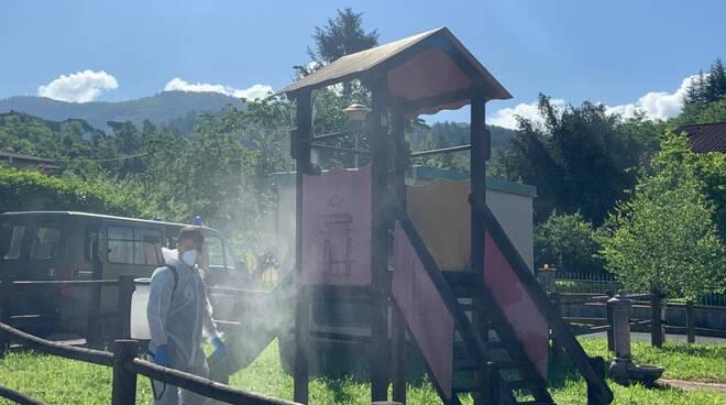 Riapertura parchi giochi Castiglione