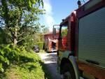 struttura a fuoco a Santa Maria a Monte, zona la Fonte