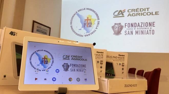 tabet donati a Misericordie Toscana