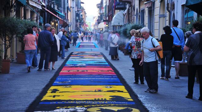 tappeti di segatura Camaiore