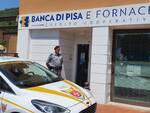 tentato colpo alla Banca di Pisa e Fornacette Uliveto Terme, sventato dalle Guardie di Città