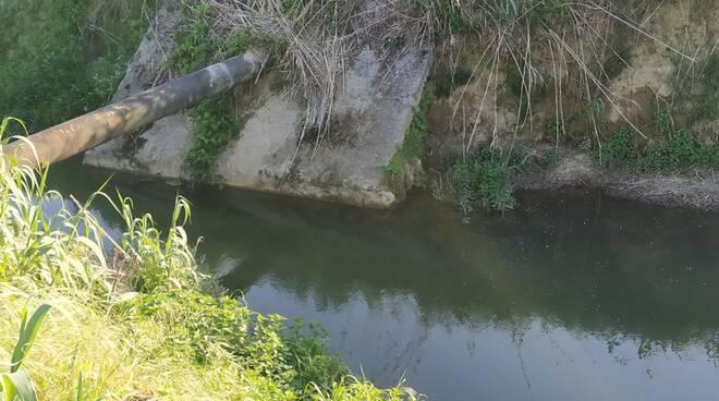 torrente Chiecina buchi falle danni argini