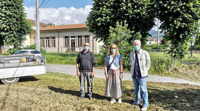 via della Billona parcheggio scuola Vallebuia