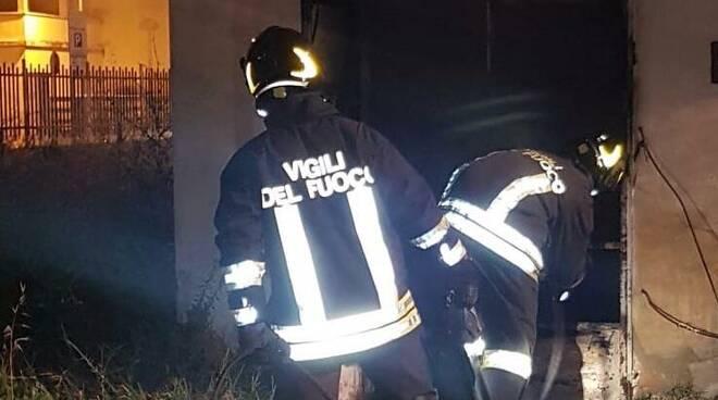 vigili del fuoco pontedera