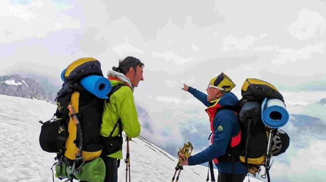 Andrea Lanfri scalata Dolomiti