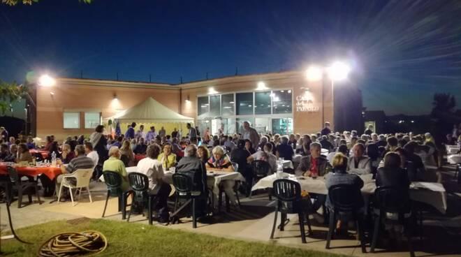 cena elettorale eugenio giani a la scala di san miniato 7 luglio 2020