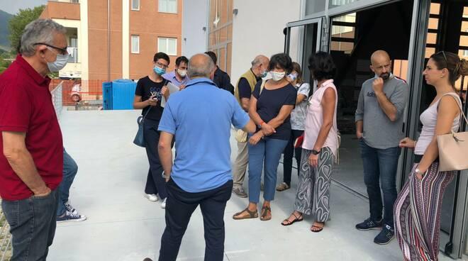 centro socio sanitario Pontetetto sopralluogo commissione politiche sociali