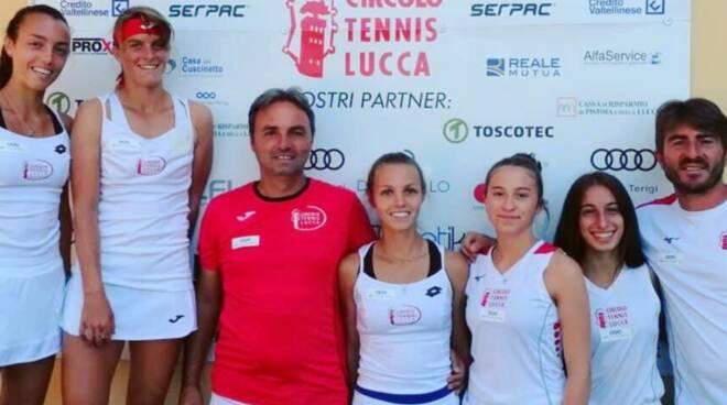 Circolo Tennis Lucca serie A1 femminile tennis