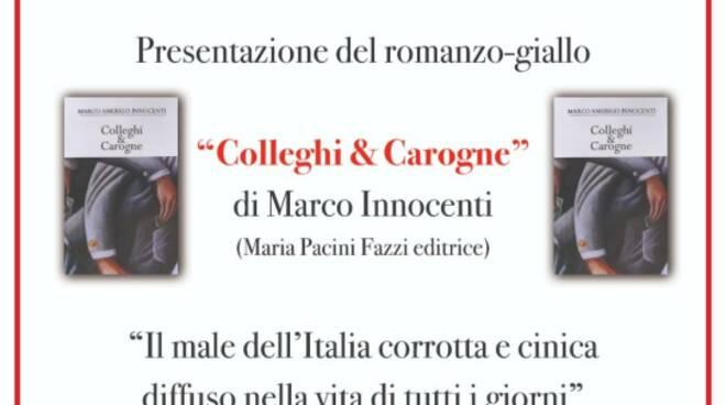 colleghi e carogne presentazione libro Ponte a Serraglio