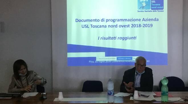conferenza dei sindaci Asl Toscana Nord Ovest Del Ghingaro Casani