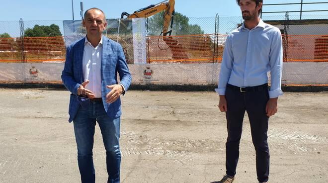 Conferenza stampa cittadella dello sport Capannori