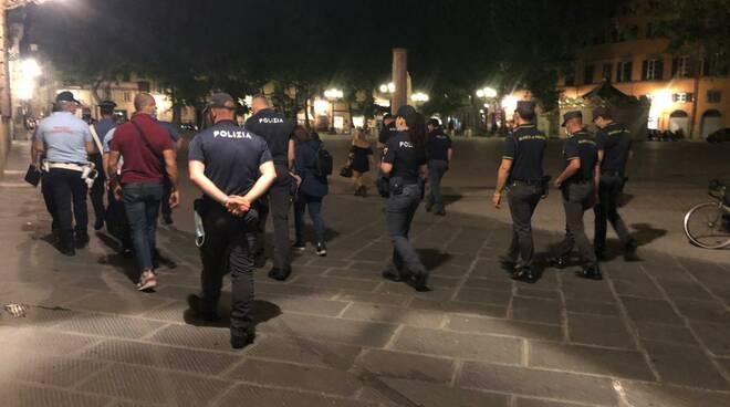 controlli antidroga centro storico Lucca