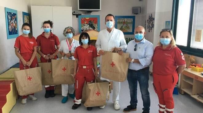 donazione all'ospedale san giuseppe della Croce Rossa di Ponte a Egola