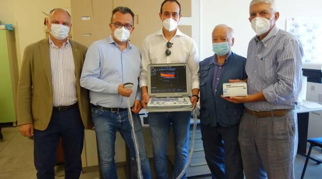 donazione ecografo San Luca Bni Toscana Nord Ovest Capannori Eventi