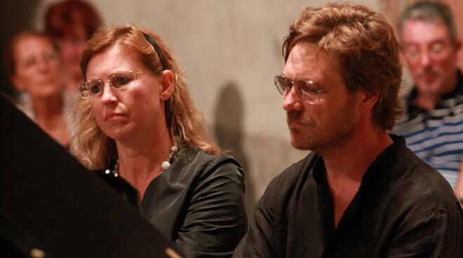 duo pianistico Nicora Baroffio Il Canto degli Alberi Lucca
