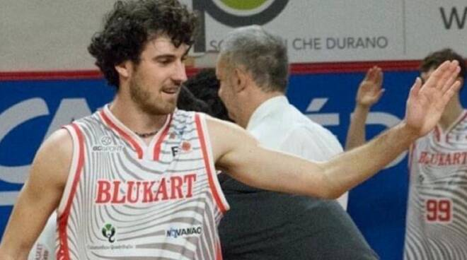 Edoardo Caverzasio basket serie B Etrusca San Miniato