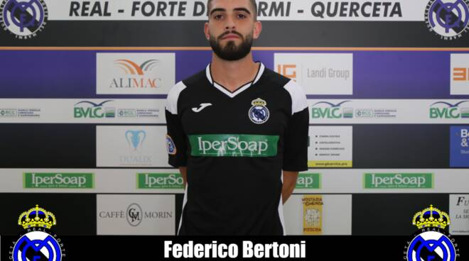 Federico Bertoni difensore Real Forte Querceta serie D