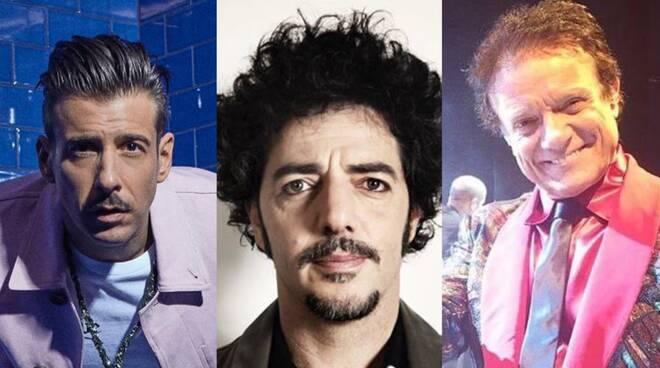 Gabbani, Gazzè e Ranieri in concerto a Castelnuovo
