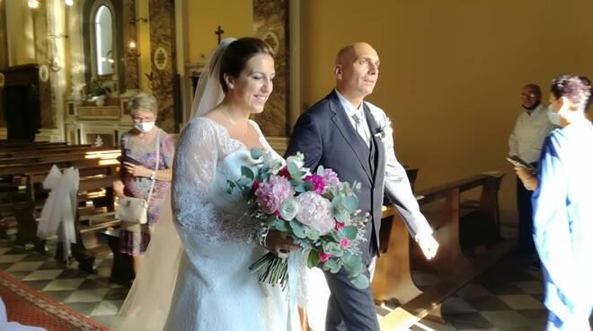Gabriele Toti Valentina Pinori matrimonio in chiesa 19 luglio 2020