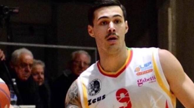 Gianluca Santini Etrusca San Miniato basket serie B