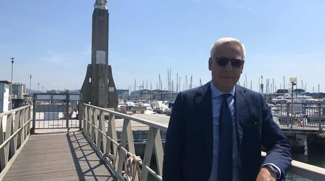 Giorgio Del Ghingaro Viareggio lavori approdo Madonnina