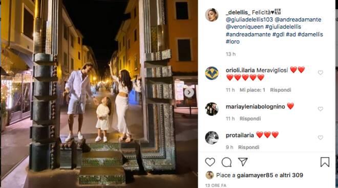 Giulia De Lellis Andrea Damante vip